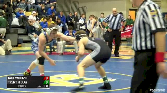 160 Finals - Jake Wentzel, South Park vs Trent Hidlay, Mifflin County