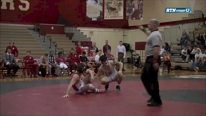 174 lbs m, David Riojas, Illinois vs Devin Skatzka, Indiana