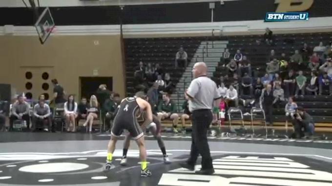 125 lbs Luke Welch, Purdue vs. Rayvon Foley, Michigan State