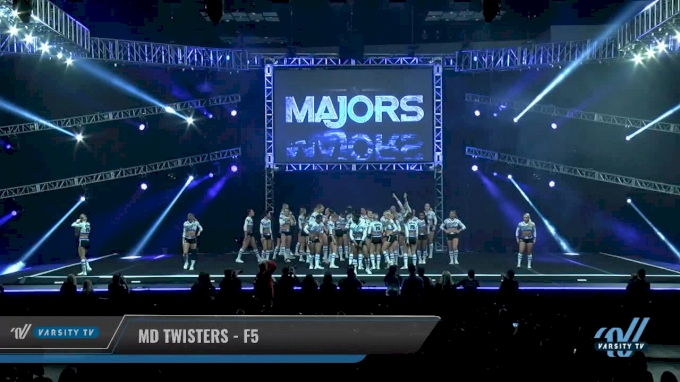 MD Twisters - F5 [2018 Large All Girl 5 Day 1] The Majors