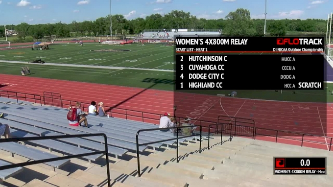 2018 DI NJCAA Outdoor Championships, Day 1 Part 1