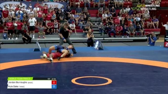 79 kg 2 Of 3 - Zahid Valencia, Sunkist Kids Wrestling Club vs Kyle Dake, Titan Mercury Wrestling Club