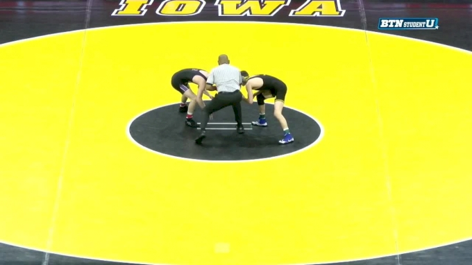 133 lbs m, Colin Valdiviez, Northwestern vs Paul Glynn, Iowa