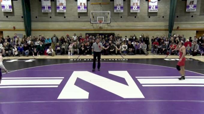 165 lbs, #11 Richie Lewis, Rutgers vs Michael Sepke, Northwestern