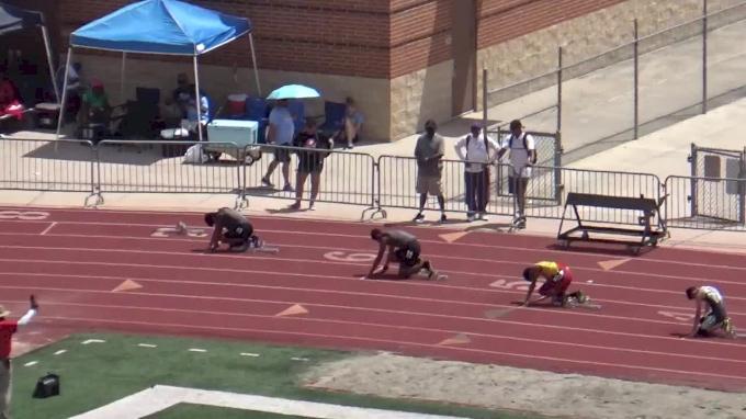 Boys' 200m Hurdles, Heat 3