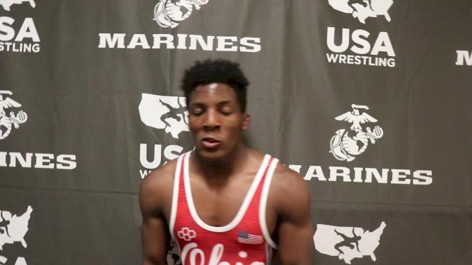 132 lbs - Jordan Decatur, OH Junior Men's Freestyle Fargo Champion