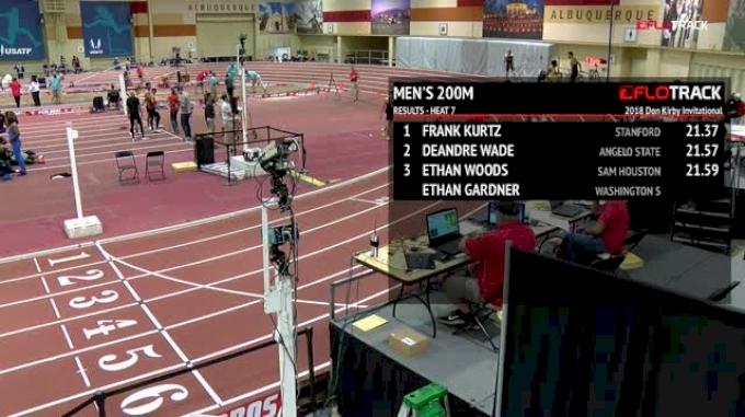 Men's 200m, Heat 7