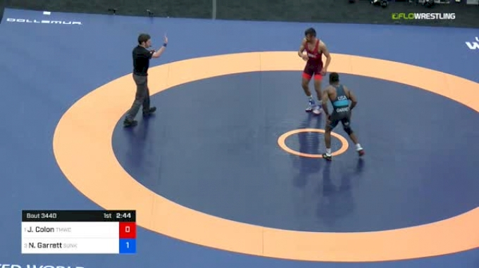 61 kg Final - Joe Colon, TMWC vs Nahshon Garrett, Sunkist Kids WC