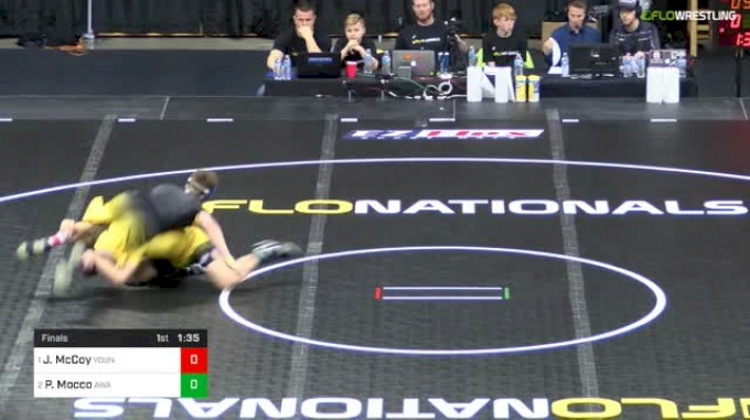 152 lbs Final - Justin McCoy, Young Guns Wrestling Club vs Peyton Mocco, Askren Wrestling Academy
