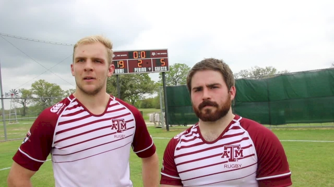 Hood And Brown Break Down Texas A&M Victory