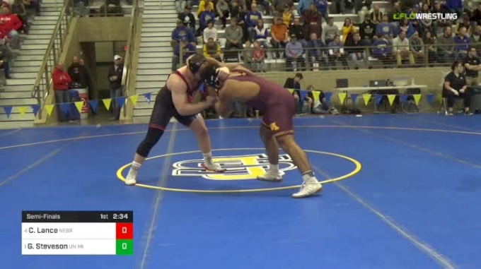 285 lbs S - Christian Lance, NE-Unattached vs Gable Steveson, MN Unattached