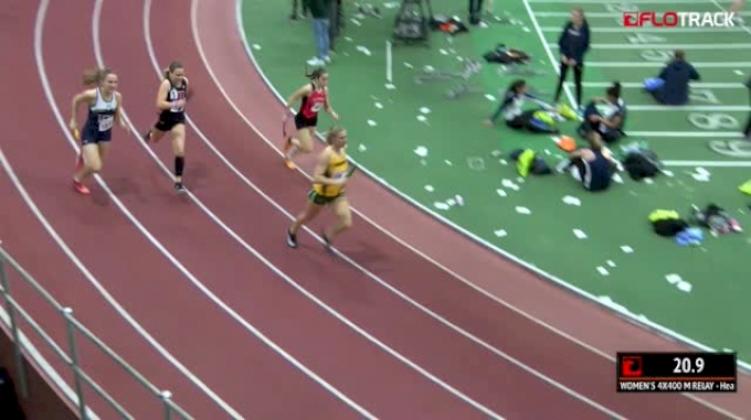 Women's 4x400m Relay, Heat 10