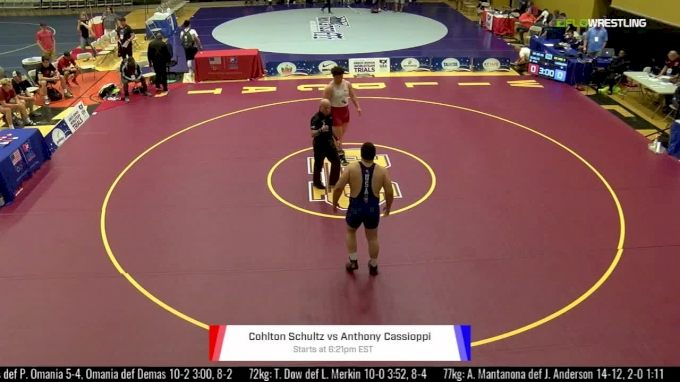 130kg, Final 3 of 3, Cohlton Schultz, NYAC vs Anthony Cassioppi, ISI