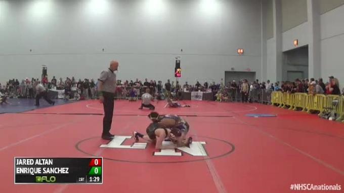 Round of 64 - Jared Altan, NY vs Enrique Sanchez, NJ