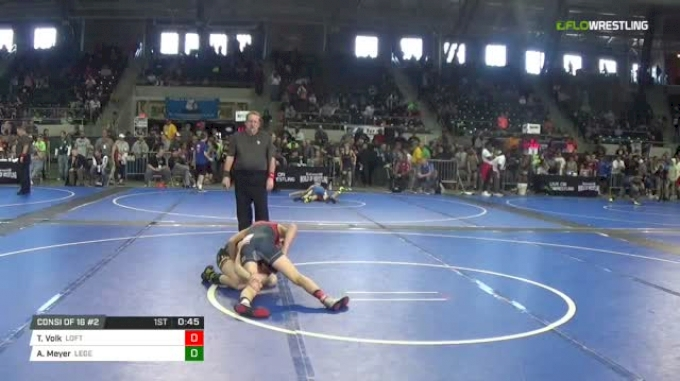 89 lbs Consi of 16 #2 - Tyten Volk, Lofton Style vs Andy Meyer, Legends Of Gold