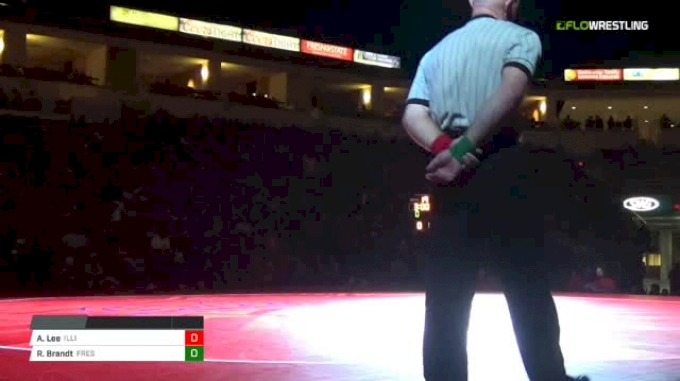 197 lbs Andre Lee, Illinois vs Richie Brandt, Fresno State