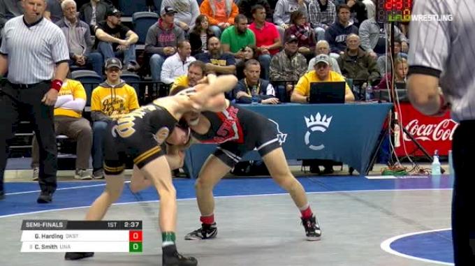 133 lbs semi - Gary Wayne Harding, Ok State vs Colby Smith, Unattached