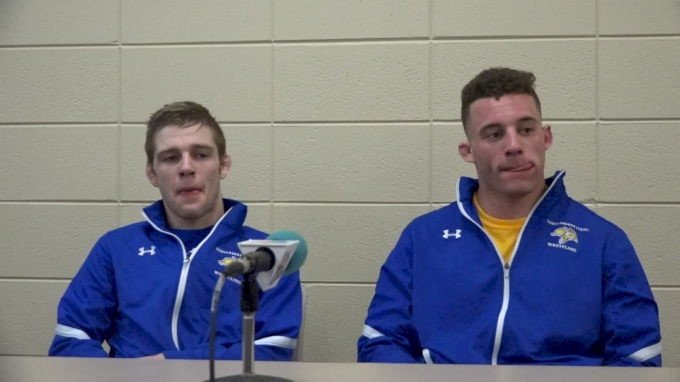 Seth Gross and Martin Mueller Post Wyoming Presser