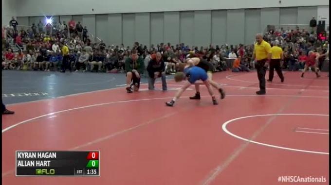 126 Finals - Kyran Hagan, MO vs Allan Hart, OH
