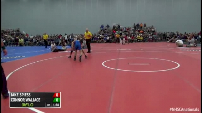 132 Finals - Jake Spiess, OH vs Connor Wallace, VA