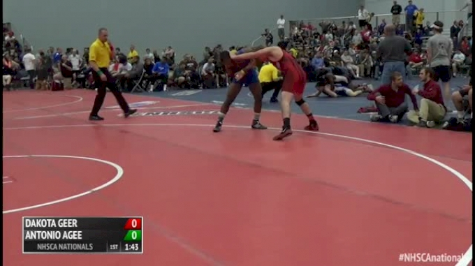 182 Finals - Dakota Geer, PA vs Antonio Agee, VA