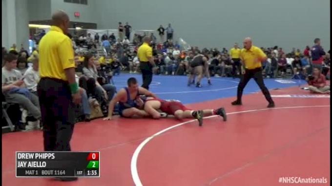 195 Finals - Drew Phipps, PA vs Jay Aiello, VA