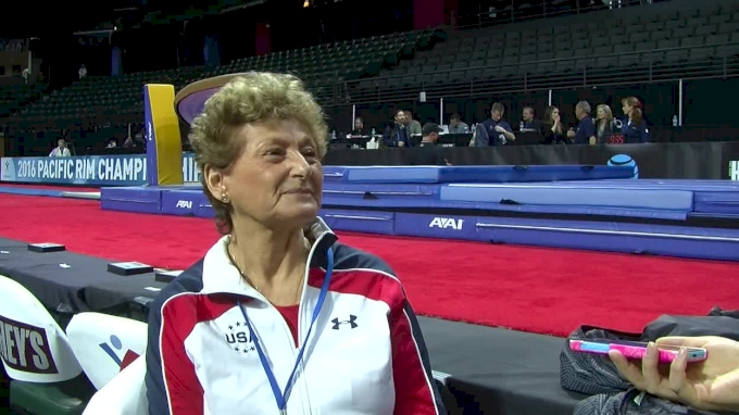 Martha Karolyi On Simone, Laurie, And If There's Room For A Specialist In Rio - 2016 Pac Rims Team & AA Final