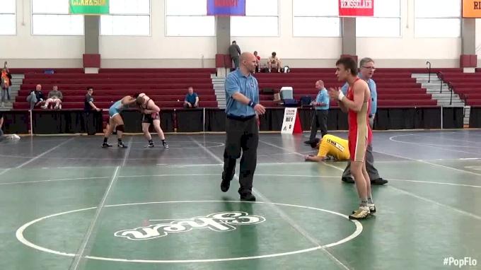 120 lbs Julian Chlebove, PA vs Peter Kopylov, RUS