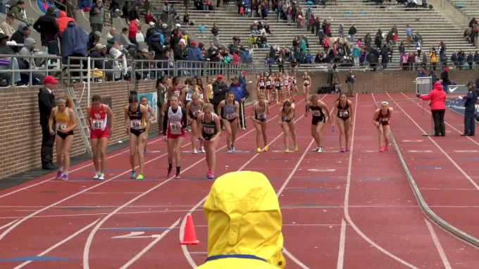 Women's Distance Medley Relay,  - Event 160, College