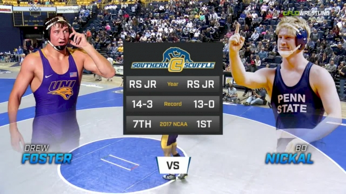 184 f, Bo Nickal, Penn State vs Drew Foster, UNI
