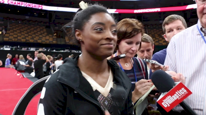 Interview: Simone Biles - Day 1, 2018 US Championships