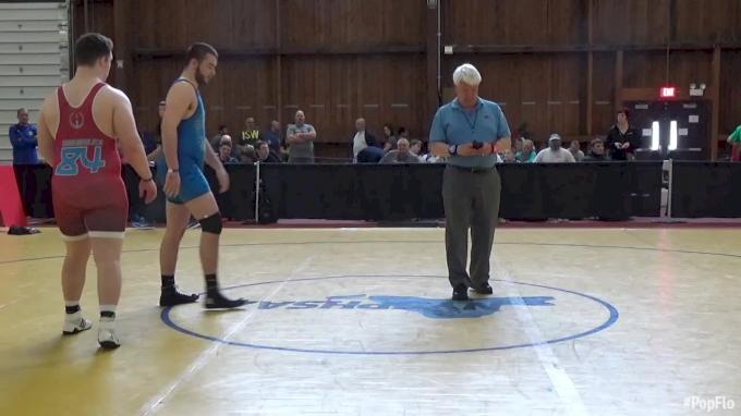 285 lbs Niko Camacho, BC vs Jacob Karandy, Journeymen