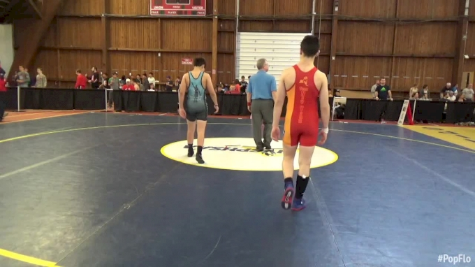 106 lbs Justin Gaudiana, RI National vs Joe Zargo, Rhino