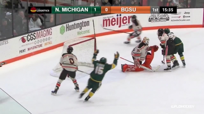 Highlights: Northern Michigan Takes Game 2 vs Bowling Green 2-0