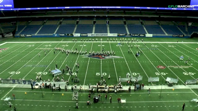 """George Ranch H.S. """"Richmond, TX"""" at Bands of America San Antonio Super Regional Championship, presented by Yamaha"""