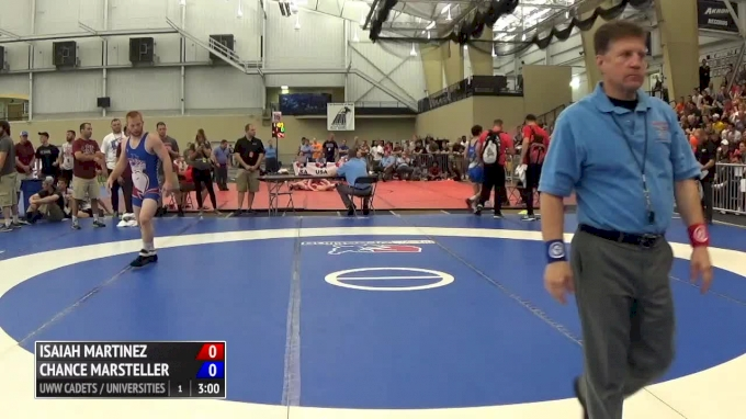 74 kg Final - Isaiah Martinez, Illinois vs Chance Marsteller, Lock Haven