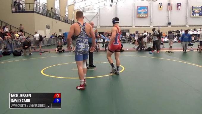 76 kg Final - Jack Jessen, IL vs Travis Wittlake, OR Match 1