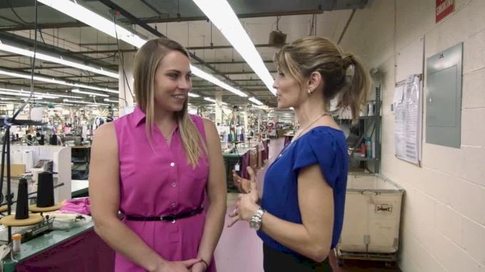 How It's Made: Shannon Miller's New Alpha Factor Leotard