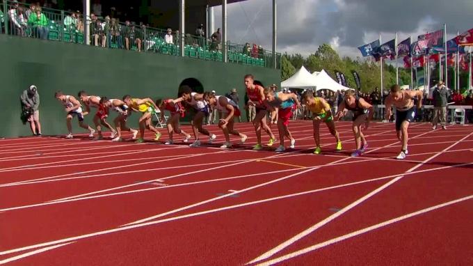 Men's 1500m, Final - Clayton Murphy throws down huge win in 3:36
