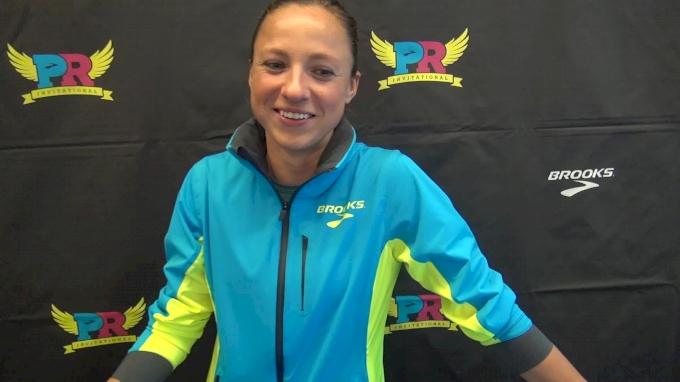 Natalja Piliusina eyeing the olympic standard before her trip overseas for European Championships