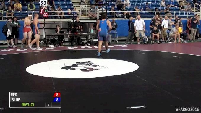 220 lbs Keaton Fogler, IL vs Tyler Curd, MO