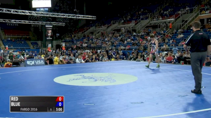 195 lbs Semifinal - Sergio Villalobos, IL vs Eli Pokorney, IN