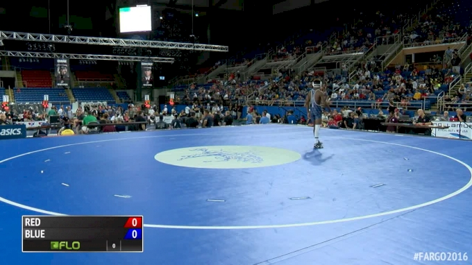 126 lbs Quarterfinal - Paul Konrath, IN vs Michael McGee, IL