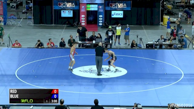 138 lbs Semifinal - Nick Lee, IN vs Mitch McKee, MN