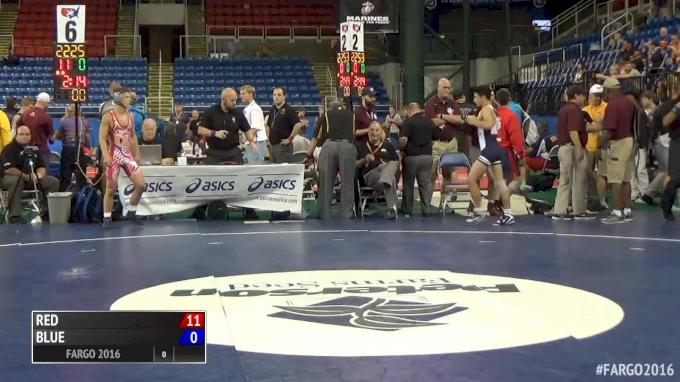113 lbs Semifinal - Nic Aguilar, CA vs Mike Madara, PA