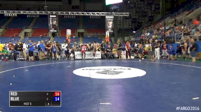 100 lbs Quarterfinal - Matthew Petersen, MN vs Riley Weir, OK