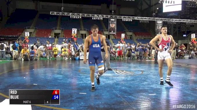 195 lb q, Miles Lee, PA vs Sam Grove, ND