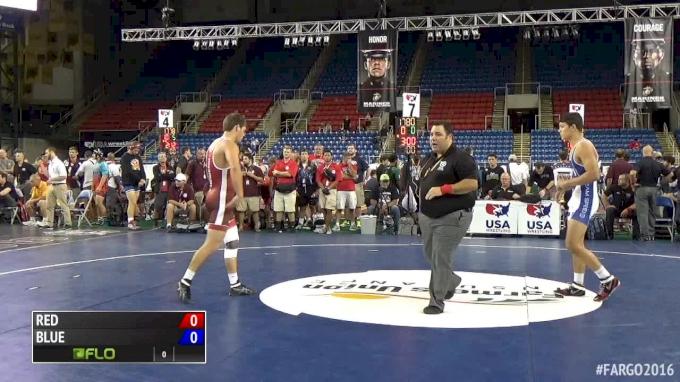 182 lb Round 4 Anthony Mantanona, California vs Canten Marriott, Missouri