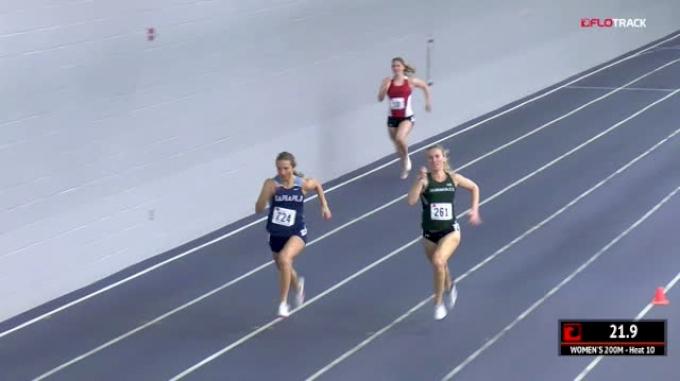 Women's 200m, Heat 10