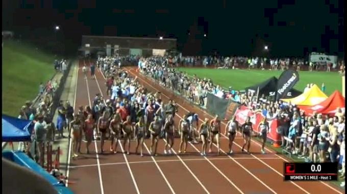 Women's Mile - Lauren Johnson Runs #3 Mile In The World! 4:25!
